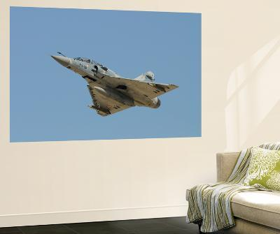 Mirage 2000B of the French Air Force Taking Off-Stocktrek Images-Wall Mural