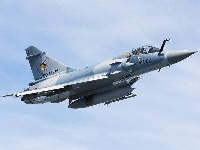 Mirage 2000C of the French Air Force-Stocktrek Images-Photographic Print