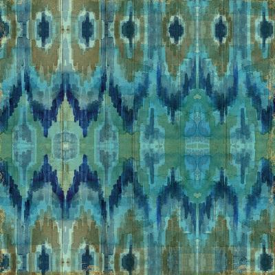 Mirage Pattern I Blue--Art Print