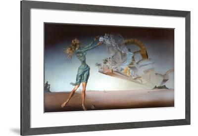 Mirage-Salvador Dal?-Framed Art Print