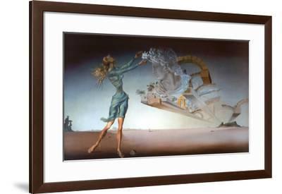 Mirage-Salvador Dalí-Framed Art Print