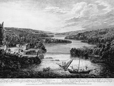 Miramichi Settlement on the Gulf of Saint Lawrence-Paul Sanby-Photographic Print