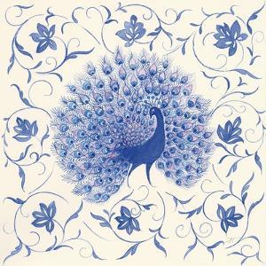 Peacock Garden I by Miranda Thomas