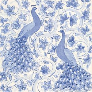 Peacock Garden II by Miranda Thomas