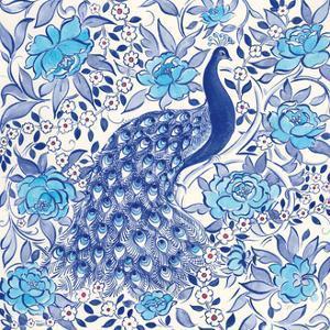 Peacock Garden III by Miranda Thomas