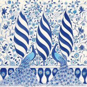 Peacock Garden V by Miranda Thomas