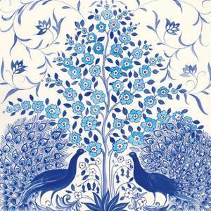 Peacock Garden VIII by Miranda Thomas