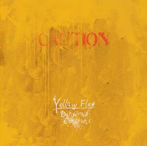 Caution, Yellow Flag, Dangerous Conditions by Miranda York