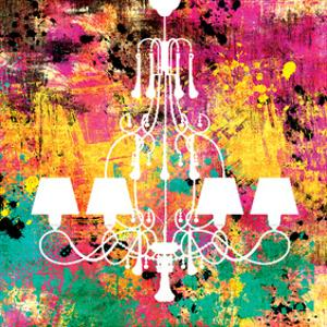 Neon Chandelier I by Miranda York