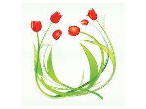 Spring Wreath by Miranda York