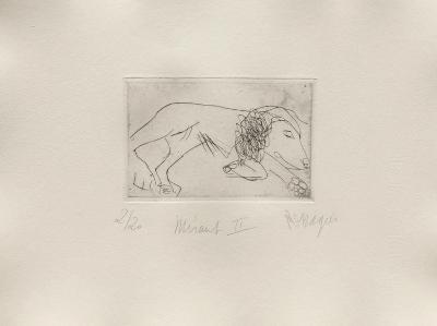 Miraut II-Jean Messagier-Limited Edition