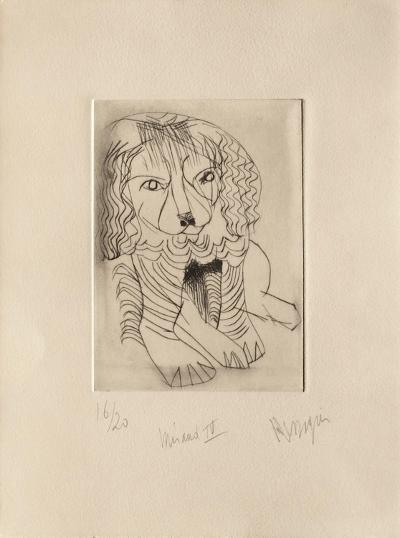 Miraut IV-Jean Messagier-Limited Edition