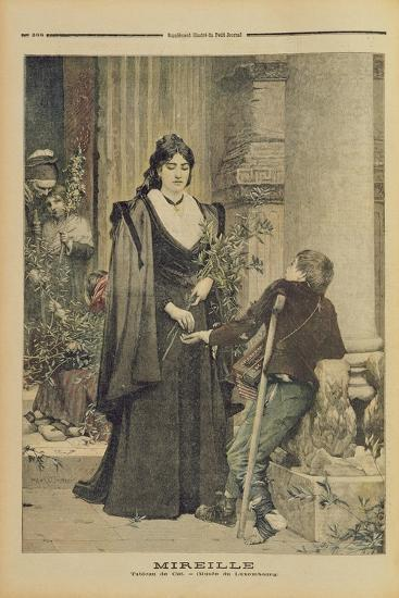 Mireille, from the Illustrated Supplement of 'Le Petit Journal', 18th November 1893-Pierre-Auguste Cot-Giclee Print