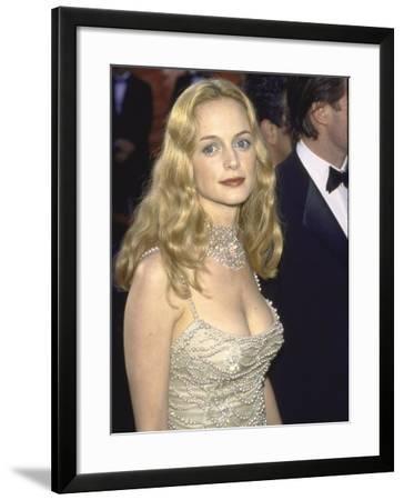 Actors Heather Graham at Academy Awards