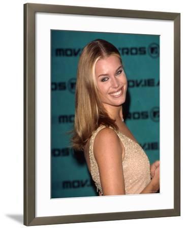 Model Rebecca Romijn Stamos at MTV Movie Awards