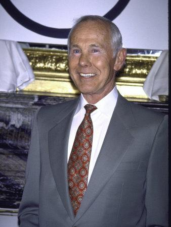Television Personality Johnny Carson