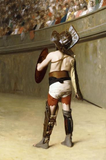 Mirmillon - a Gallic Gladiator-Jean Leon Gerome-Giclee Print