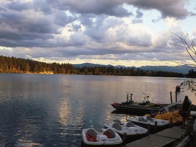 Mirror Lake, Lake Placid, Adirondacks-Rudi Von Briel-Photographic Print