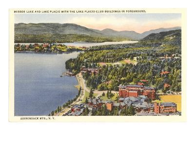 Mirror Lake, Lake Placid, New York--Art Print