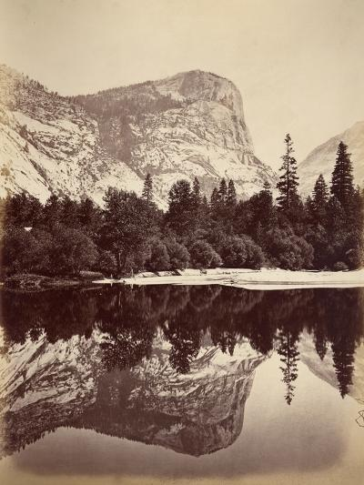 Mirror Lake, Yosemite Valley, Usa, 1861-75-Carleton Emmons Watkins-Photographic Print