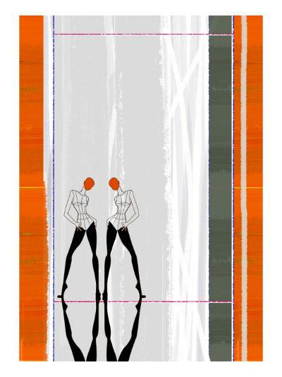 Mirror Reflection-NaxArt-Art Print