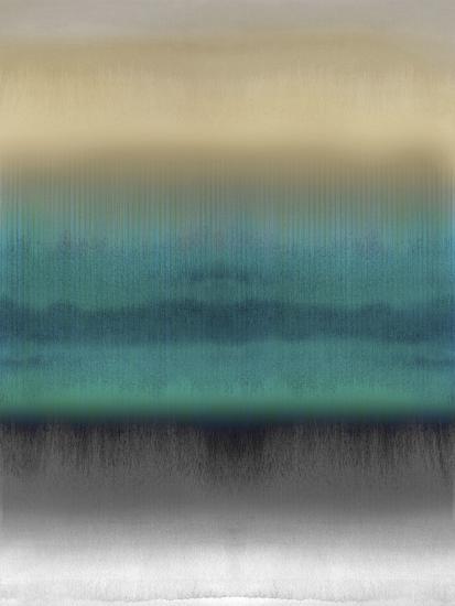 Mirrored Metal - Aqua-Chloe Larsen-Giclee Print