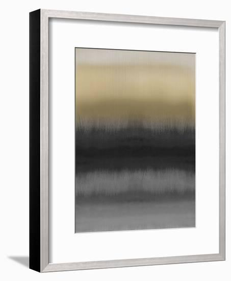 Mirrored Metal - Dark-Chloe Larsen-Framed Giclee Print