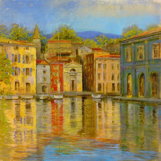 Mirrored Villa-Longo-Giclee Print