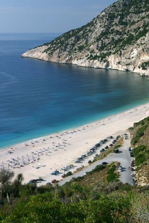 Mirtos Beach, Kefalonia, Greece-Peter Thompson-Photographic Print