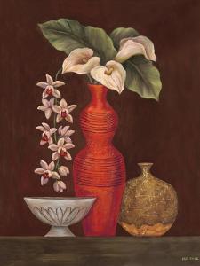 White Calla Lilies by Misa Eva