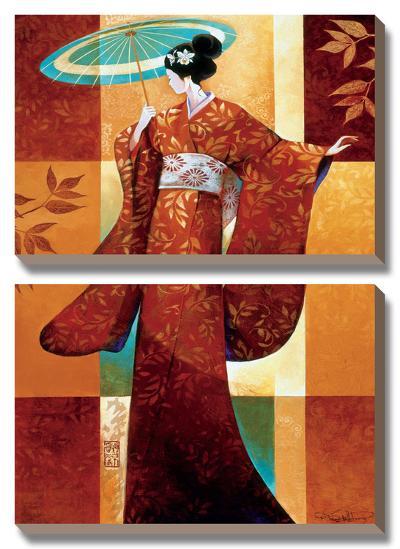 Misaki-Keith Mallett-Canvas Art Set