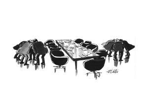New Yorker Cartoon by Mischa Richter