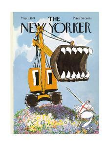 The New Yorker Cover - May 1, 1971 by Mischa Richter