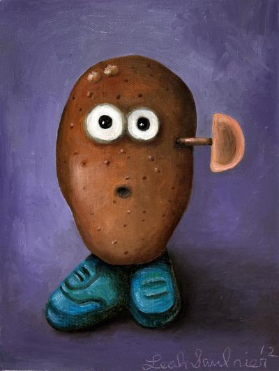 Misfit Potato 3-Leah Saulnier-Giclee Print