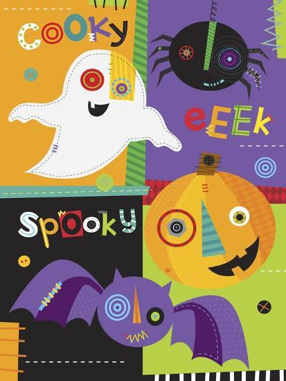 Mish Mash Halloween-Holli Conger-Giclee Print