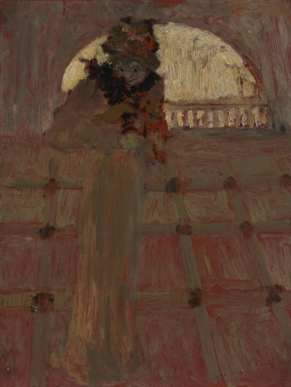 Misia at the Opera, C. 1900-?douard Vuillard-Giclee Print