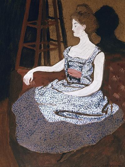 Misia Godebska-Natanson-Felix Edouard Vallotton-Giclee Print
