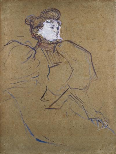 Misia Natanson, C.1897-Henri de Toulouse-Lautrec-Giclee Print