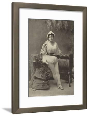 Miss Ada Blanche, as Robinson Crusoe