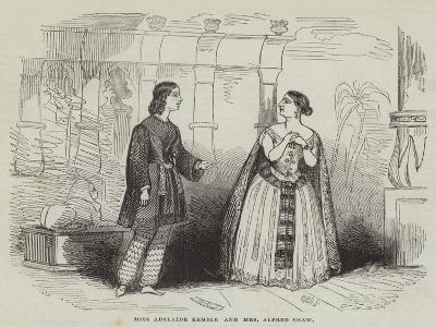 Miss Adelaide Kemble and Mrs Alfred Shaw--Giclee Print