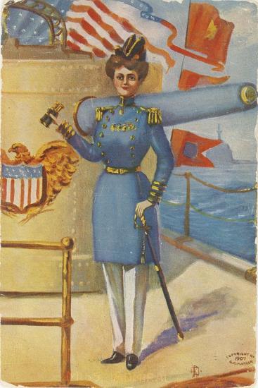 Miss Admiral-G.C. Mather-Giclee Print
