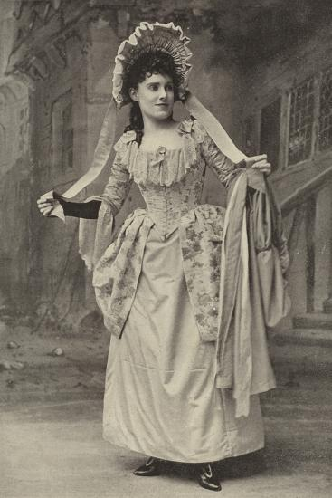"""Miss Alice Esty, in """"The Golden Web""""--Photographic Print"""