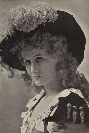 Miss Alice Lethbridge--Photographic Print