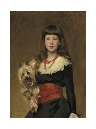 Miss Beatrice Townsend, 1882-John Singer Sargent-Giclee Print