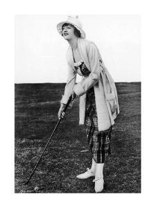 Miss Bonnie Hill, The American Golfer May 20, 1920