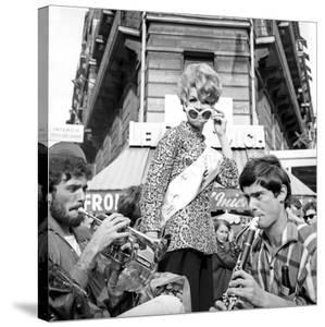Miss Boul Mich (Boulevard St Michel)Paris, 11 July 1965