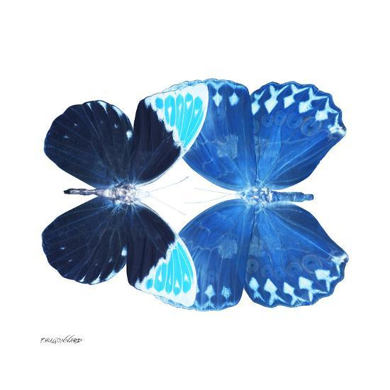 Miss Butterfly Duo Formoia Sq - X-Ray White Edition-Philippe Hugonnard-Photographic Print