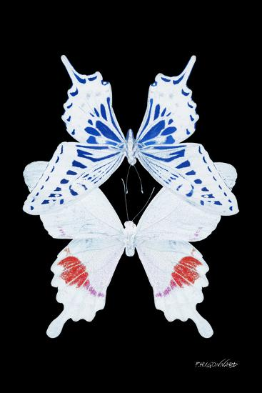 Miss Butterfly Duo Parisuthus II - X-Ray Black Edition-Philippe Hugonnard-Photographic Print