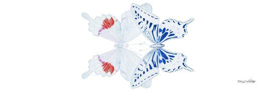 Miss Butterfly Duo Parisuthus Pan - X-Ray White Edition-Philippe Hugonnard-Photographic Print