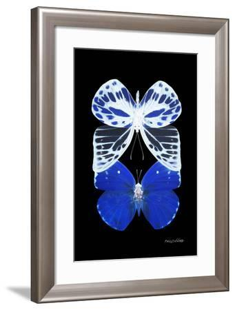 Miss Butterfly Duo Priopomia II - X-Ray Black Edition-Philippe Hugonnard-Framed Photographic Print